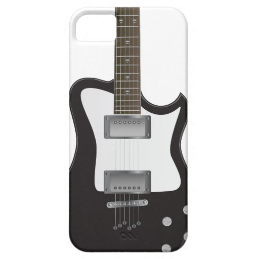 Guitarra eléctrica Iphone5 Barely There iPhone 5 Fundas