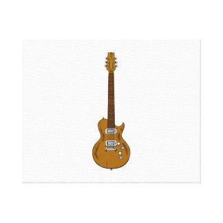 Guitarra eléctrica lona estirada galerias