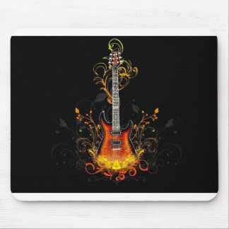 Guitarra eléctrica Mousepad Tapete De Ratón