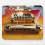 Guitarra eléctrica Mousepad Tapetes De Raton