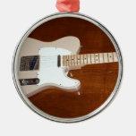 Guitarra eléctrica ornamentos de reyes magos