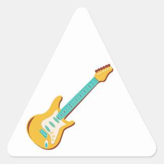 Guitarra eléctrica colcomanias de triangulo personalizadas