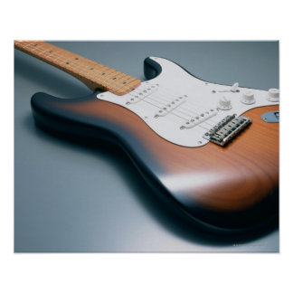 Guitarra eléctrica póster