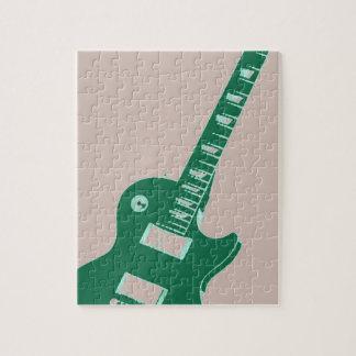 Guitarra eléctrica rompecabezas