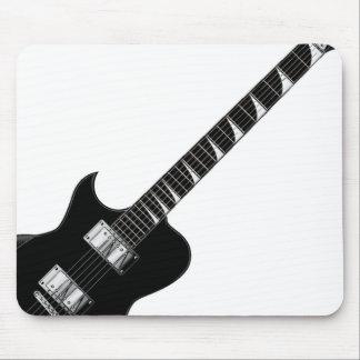 Guitarra eléctrica tapete de raton
