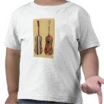 Guitarra embutida con nacarado, de 'Musical Camisetas