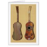 Guitarra embutida con nacarado, de 'Musical Tarjeton