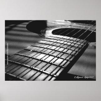 Guitarra española 01 poster