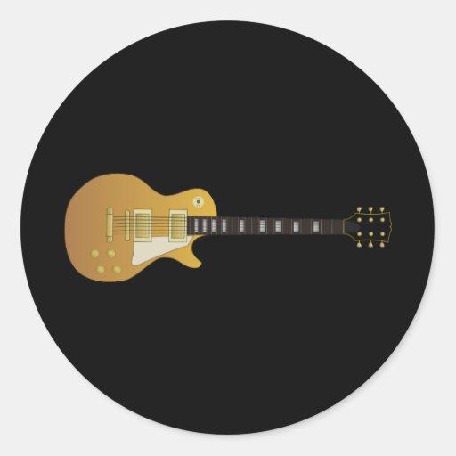 Guitarra Etiqueta Redonda