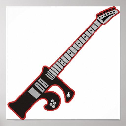 Guitarra F Poster