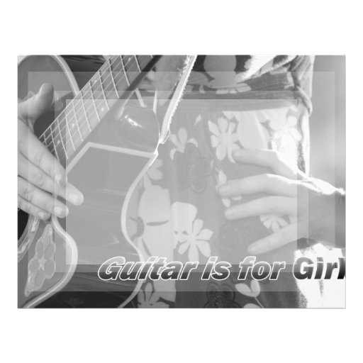 Guitarra femenina de la mano en la cadera Text.jpg Membretes Personalizados