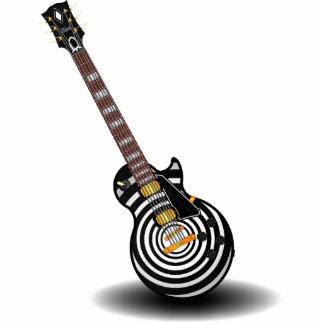 Guitarra Fotoescultura Vertical