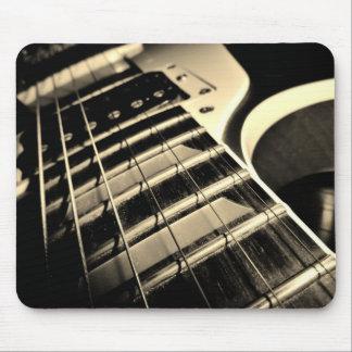 Guitarra fresca Mousepad Tapete De Ratón