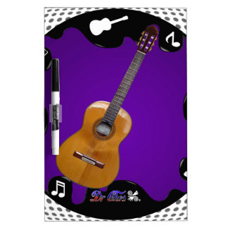 GUITARRA GIFS CUSTOMIZABLE PRODUCTS Dry-Erase BOARDS