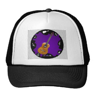 GUITARRA GIFS CUSTOMIZABLE PRODUCTS TRUCKER HATS