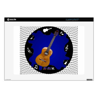 """GUITARRA GIFTS CUSTOMIZABLE PRODUCTS DECAL FOR 15"""" LAPTOP"""
