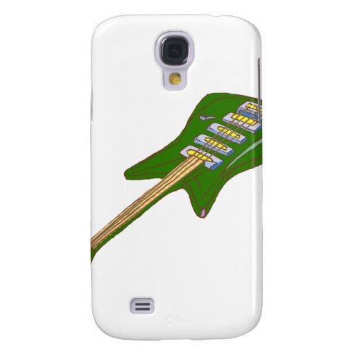 guitarra green.png coloreado multi eléctrico