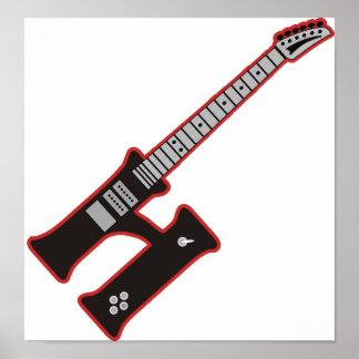 Guitarra H Póster