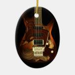 Guitarra ideal - ornamento del óvalo de la toleran ornamente de reyes