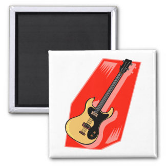 Guitarra Imán Cuadrado