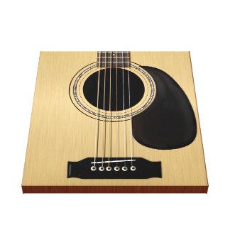 Guitarra Impresión En Lienzo