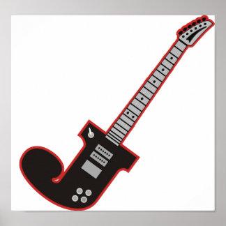 Guitarra J Póster