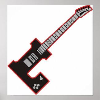 Guitarra L Póster