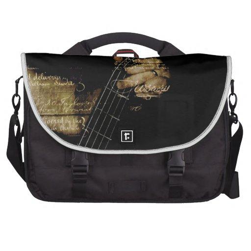 Guitarra lírica inspirada bolsas para portatil