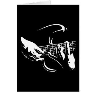 guitarra-manos-DKT Tarjeta De Felicitación