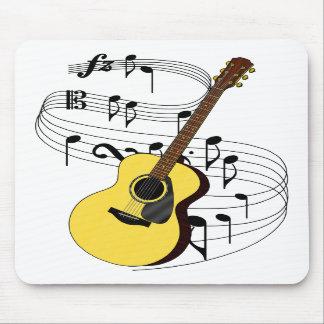 Guitarra Tapete De Ratón