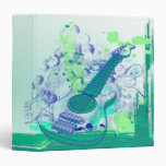 guitarra notebook-01-01 del grunge del vintage