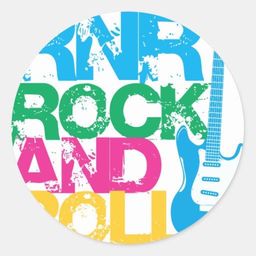 Guitarra NUEVA YORK del ROCK-AND-ROLL Etiqueta