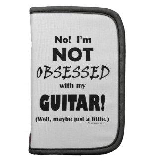 Guitarra obsesionada planificadores