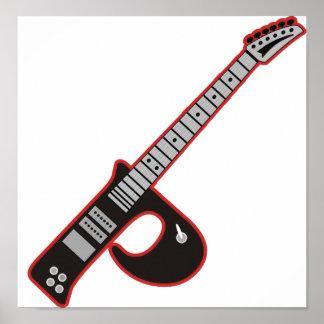 Guitarra P Póster