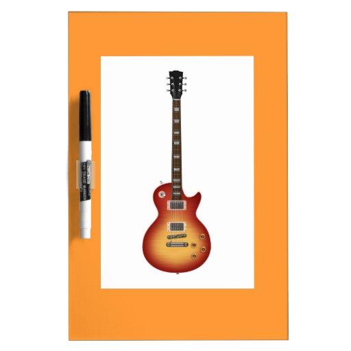 Guitarra Pizarras Blancas De Calidad