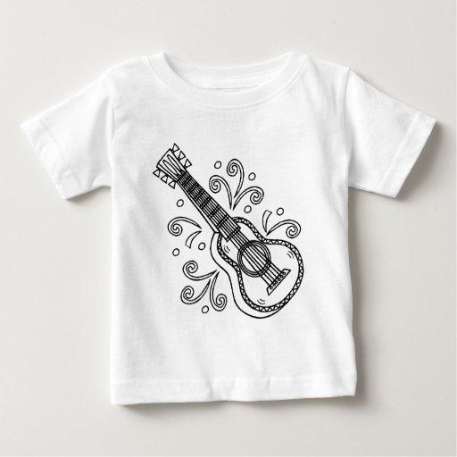 guitarra playera de bebé