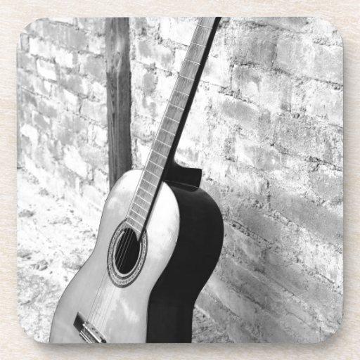 Guitarra Posavasos De Bebida