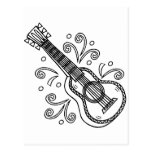 guitarra postales