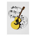 Guitarra Poster