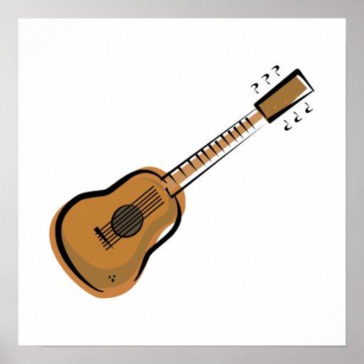 guitarra póster