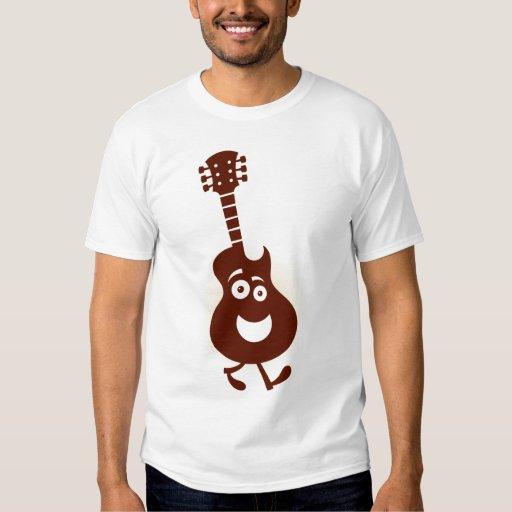 Guitarra que camina - camiseta de playera