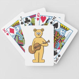 Guitarra que juega el oso barajas
