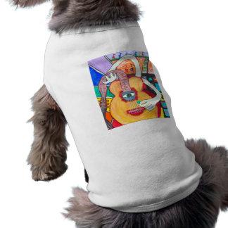 Guitarra Camisetas Mascota