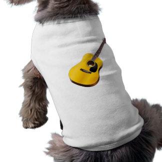 Guitarra Camisas De Mascota