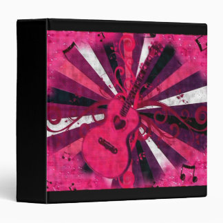 Guitarra rosada, carpeta de la música