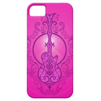 Guitarra rosada compleja funda para iPhone SE/5/5s