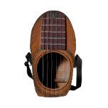 Guitarra rústica bolsa de mensajería