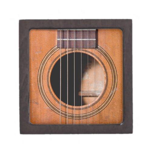 Guitarra rústica caja de regalo de calidad