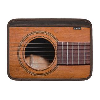 Guitarra rústica fundas MacBook