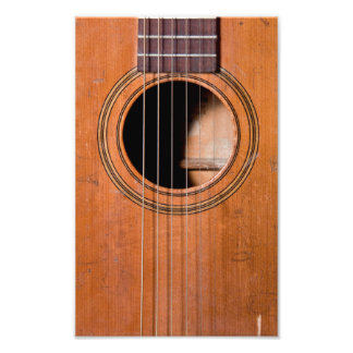 Guitarra rústica arte fotografico
